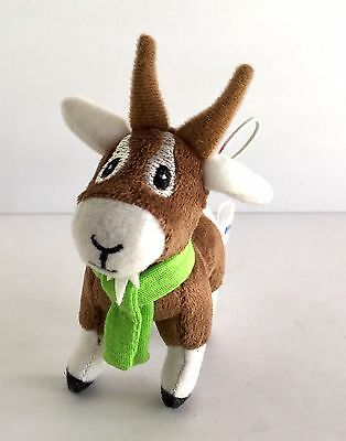 Farmville Zynga Collectible Plush Goat Doll Hanging Ornament 2011 Series
