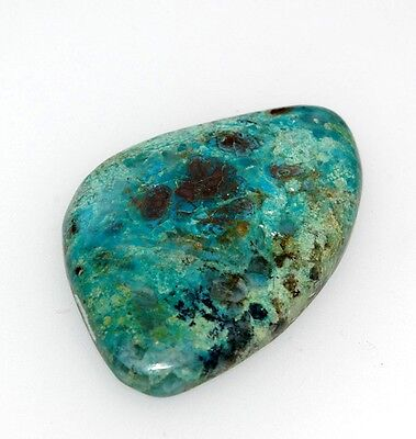 Azurit Cabochon, 41,0ct.,Natural,Heilstein