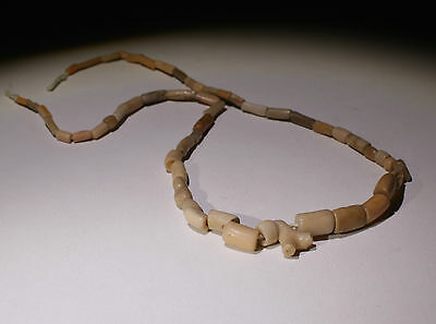 Ancient Roman Glass Bead Necklace Circa 2Nd Century Ad - No Reserve!!!!!