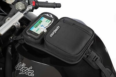 Cortech Micro 2.0 Tank Bag w/ Ventilated Media Pocket - Magnetic/Strap Mount