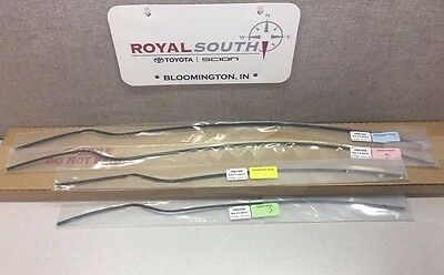 Toyota Tundra 2007 - 2017 Double Cab Painted 202 Door Edge Guards Genuine OEM OE