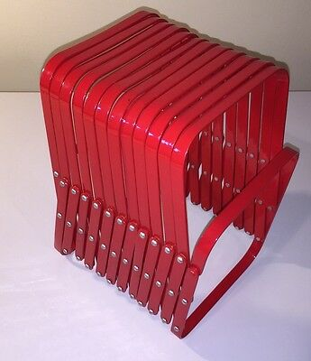 Anthropologie Office Accordion File Sorter - Red