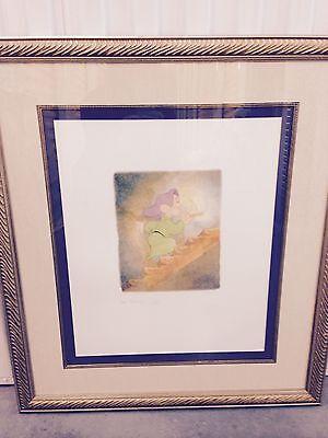 "Disney Limited Edition Lithograph ""Dopey"""