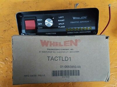 whelen  led traffic advisor  control box.#tactld1 new in the box .