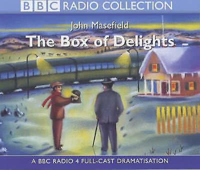 The Box Of Delights - 3 Cd Bbc Audio Book - New/unsealed - John Masefield