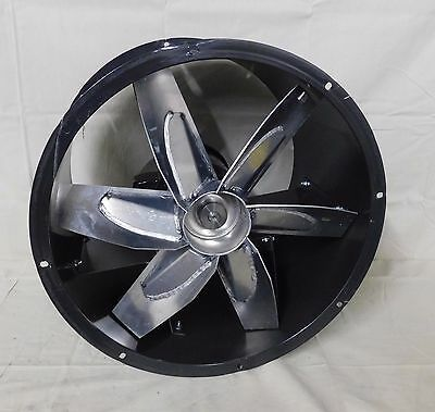 "Dayton 4TM85 Tubeaxial Fan Direct Drive Motor 24"" 6 Blade 3 Phase 1140 RPM"