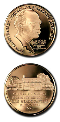 Franklin Mint 75th Anniversary Society of American Foresters Gifford Pinchot