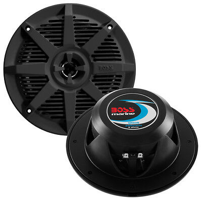 BOSS AUDIO MR62B Boss 6.5 2-Way Coaxial Marine Speaker 200W Black