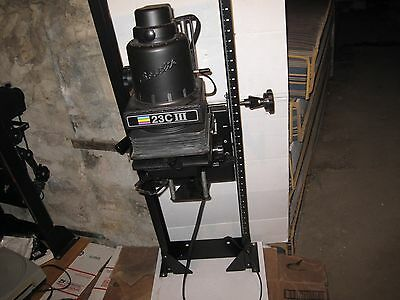 Beseler 23C III Condenser Enlarger WITH Lens
