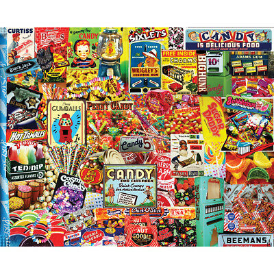 "Jigsaw Puzzle 550 Pieces 18""X24""  Penny Candy WM1037"