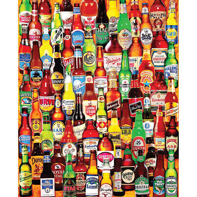 "Jigsaw Puzzle 1000 Pieces 24""X30"" 99 Bottles Of Beer On The Wall WM1047"