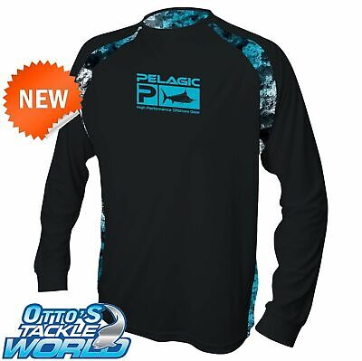 Pelagic Vaportek Long Sleeve Fishing Sunshirt BRAND NEW at Otto's Tackle World