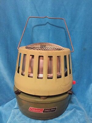 Vintage Coleman Catalytic Heater Model 513A Temp Adjustable 3000-5000 Btu Usa