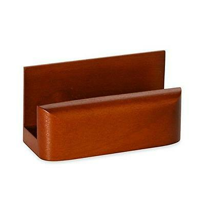 Rolodex Wood Tones Business Card Holder, Capacity 50 Cards of 2.25 x 4 Inches,