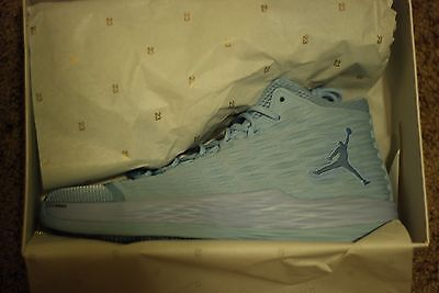 37bb2b079d18 NEW IN BOX AIR Jordan Melo M13 Energy Ice Blue NYC 917925-405 MEN ...