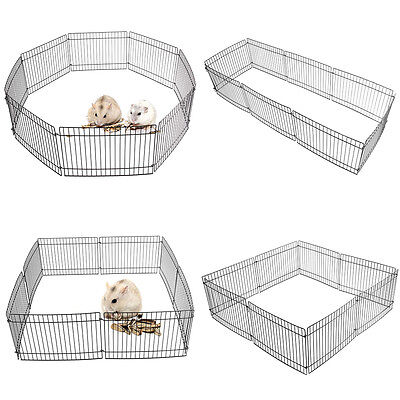 Folding Animal Guinea Small Garden Play Pen Pig /Rabbit /Dog/Hamster Metal Fence