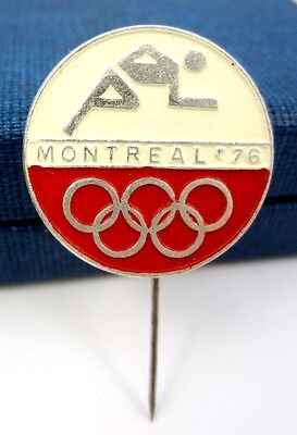Vintage Old Olympic Pin Montreal Sumer Olympic Games 1976