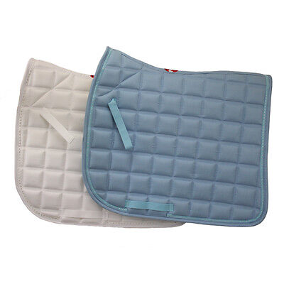 Dressage Saddle Cloth With Diamonte Horse And Equestrian