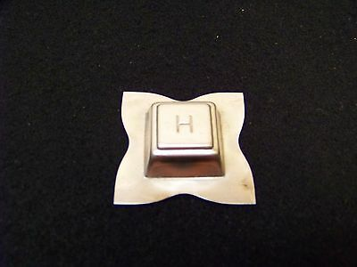 Vintage HERSHEY'S CHOCOLATE Chunk Candy Mould / Mold METAL