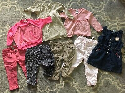 Gorgeous Lot Of Sz 1 Girls Clothes Cotton On H & M