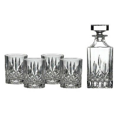 NEW Royal Doulton Square Spirit Decanter Set Decanter & Four Tumblers.On Special