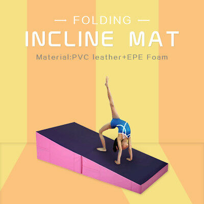 New Coming S/M/L Size Folding Incline Mat Gymnastic Exercise Balance Training