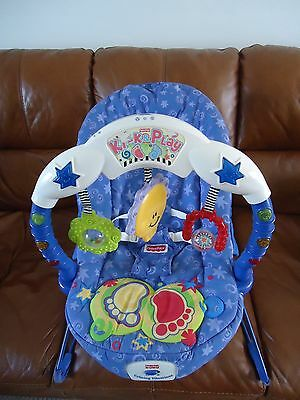 Fisher Price Kick & Play Calming Vibrations Bouncy Chair