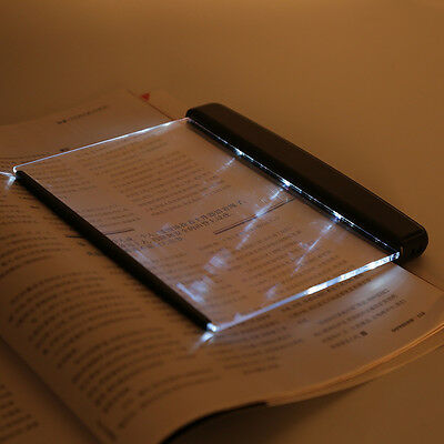 Portable LED Read Panel Light Book Reading Lamp Night Vision Eye-Protecting OP