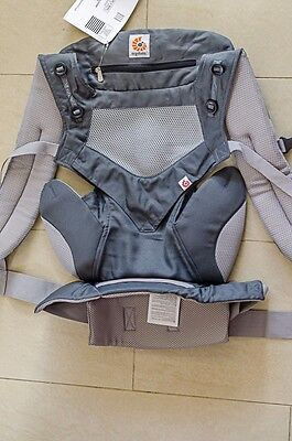 Ergobaby Four Position 360 Cool Air Mesh Baby Carrier Carbon Grey Brand new