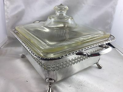 SUPERB SILVER -A1  HARDY BROS LIDED SERVING DISHES -Stunning! Dec Estate