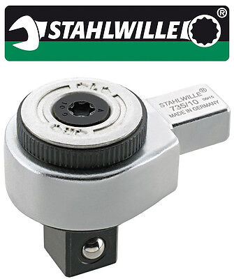Stahlwille Ratchet Insert Tool 14 x 18 mm 1/2 Inch Drive - 735/20 - 58250020