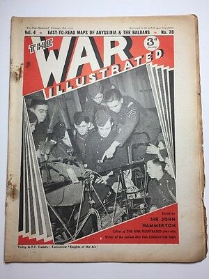THE WAR ILLUSTRATED: WWII MAGAZINE: 1941: No.78: ATC Cadets: Knights Of The Air
