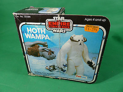 vintage Star Wars Kenner/ Palitoy Hoth Wampa in Empire Box  mit Inlay
