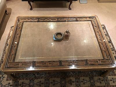 Chinese Decorative Bamboo Inlay Table