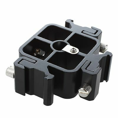 3 in 1 All-metal Tri-Hot Shoe Mount Adapter fr Flash Holder Bracket Light S A8S2