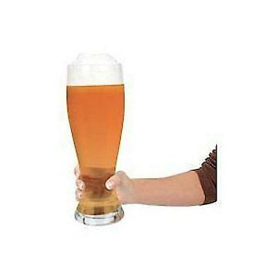 Massive Giant Beer Glass Large Huge Big Glass Holds 2.5 Pints Of Lager Anything