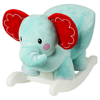 Fisher Price Elephant Rocking Pal Kids Baby Rocker Toy