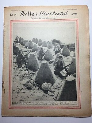 THE WAR ILLUSTRATED: WWII MAGAZINE: 1941: No. 98: British Troops In Syria