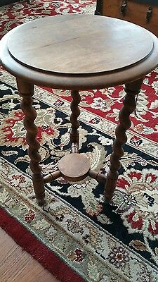 antique round small table