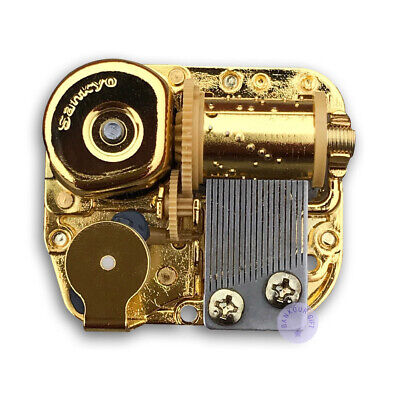 """Play /""""Hedwig/'s Theme/"""" Golden Wind up Sankyo Musical Movement for DIY Music Box"""