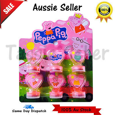Peppa Pig Stamp Set Boys Girls Children 6 Stamps Gift