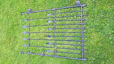 Victorian wrought iron gate antique