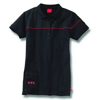 Womens Vw Gti Collection Black Red T Shirt - Genuine Vw Merchandise