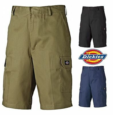 Mens Dickies Redhawk Heavy Duty Work Durable Strong Combat Cargo Shorts 30-46W