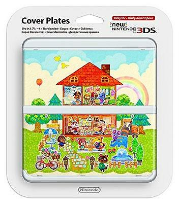 New 3DS Kisekae Cover Plates No.062 Animal Crossing Happy Home Design Japan