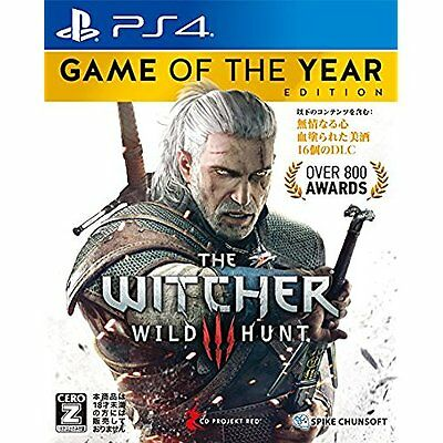 PS4 / Witcher 3 Wild Hunt Game of the Year Edition / japanese ver.