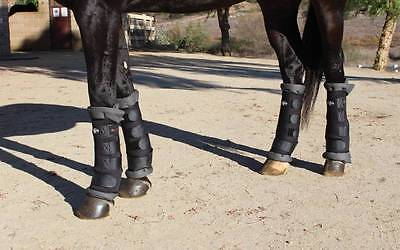 Professional's Choice FRONT & REAR Horse leg Therapy Theramic Combo Wraps M Prof