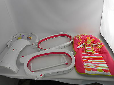 Fisher-Price CMR19 Infant-to-Toddler Rocker Floral Confetti