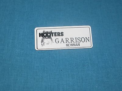 HOOTERS Garrison Name Tag