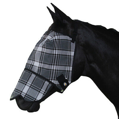 Riviera Fly Mask With  Nose Cover Horse And Equestrian